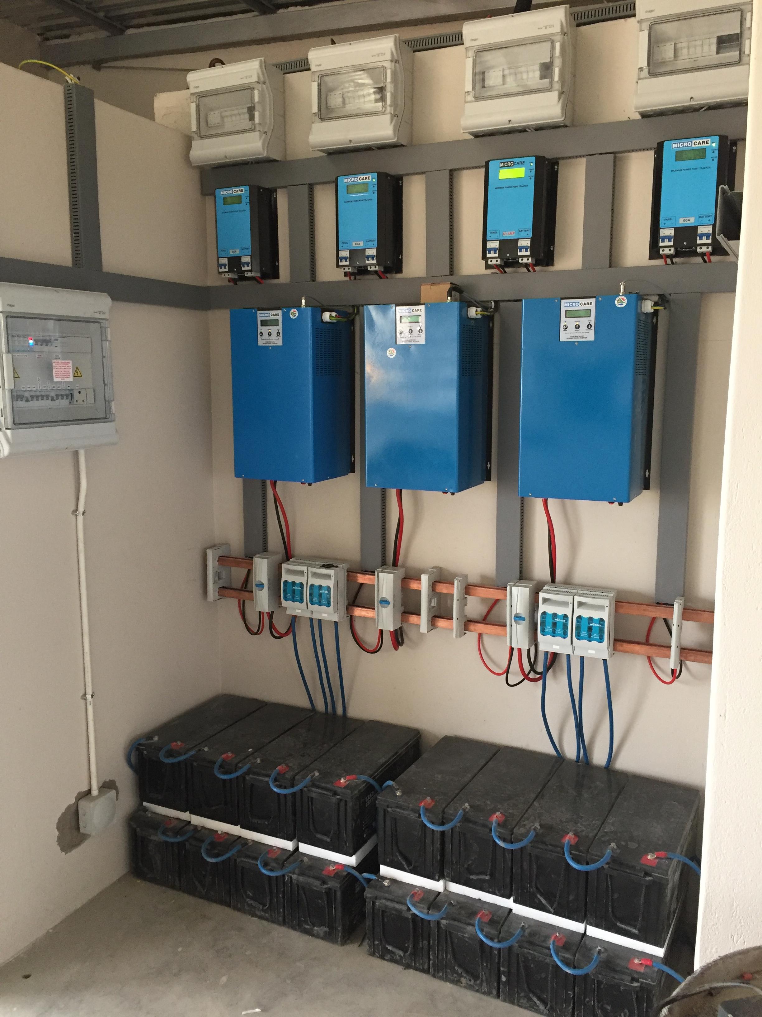 Inverter Battery For Solar System Wiring Connection For Solar Energy