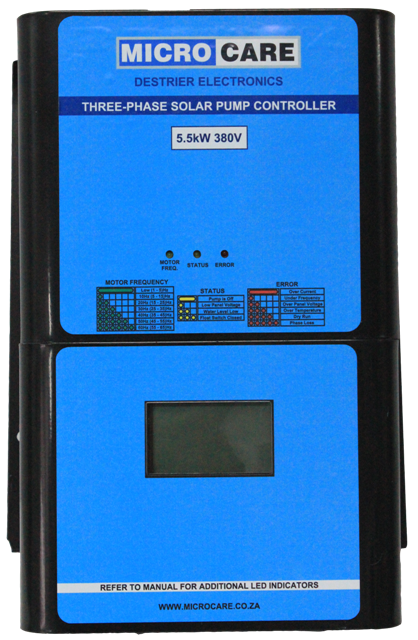 3ph Pump Controller front - s