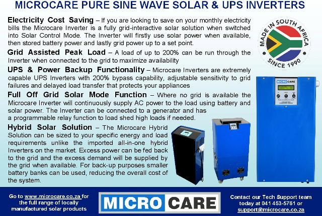 Features of a Microcare Inverter-news