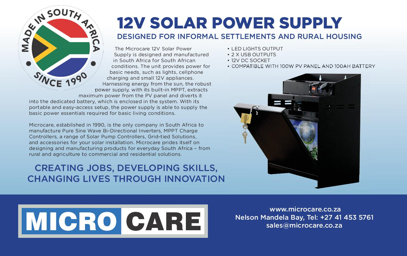 12V Solar Power Supply advert-page-001