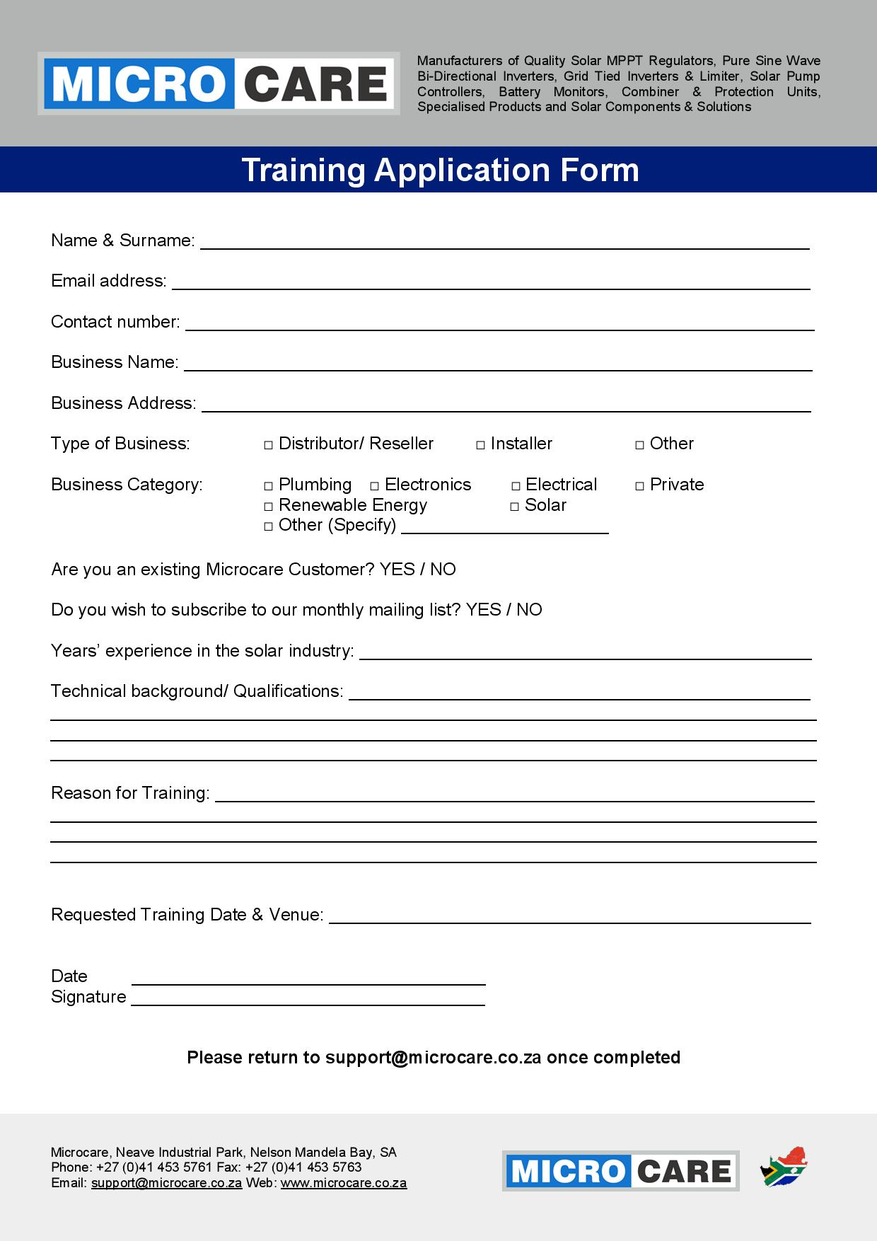 Microcare Training Application Form-page-001