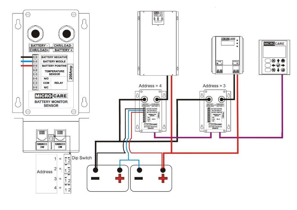 battery monitor sensor